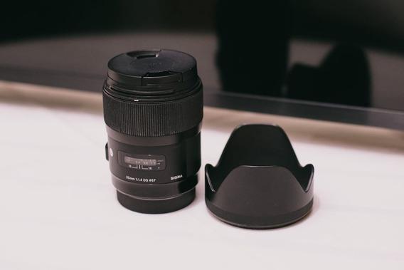 Lente Sigma 35mm 1.4 Art (p/ Canon)
