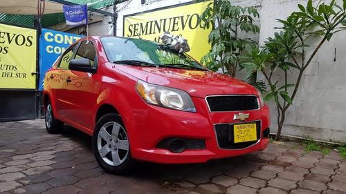 Imagen 1 de 15 de Chevrolet Aveo Ls 2017 Factura Original Unico Dueño Todo Pag