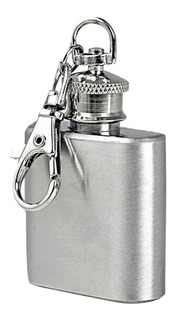 Llavero Petaca Inox 1oz Excelente Calidad Botella Whisky