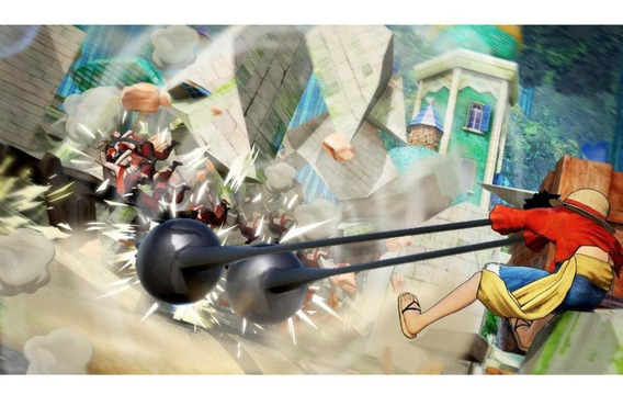 One Piece Pirate Warriors 4 Switch Mídia Física Novo