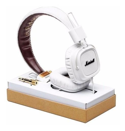 Marshall - Fone De Ouvido - Major White