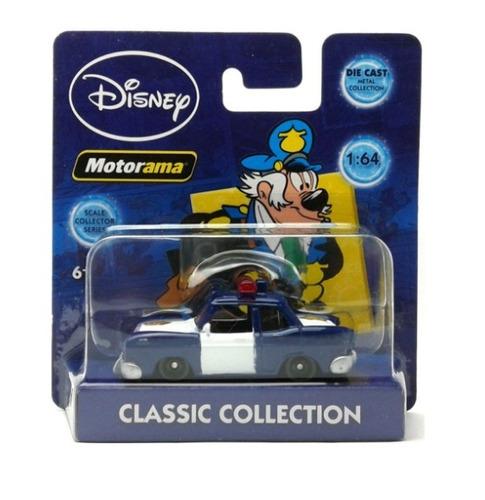 Carro Coronel Cintra Policia Diecast Disney Motorama 1:64
