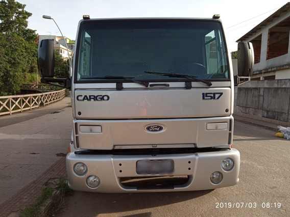 Caminhão Carroceria Toco Ford Cargo 1517e 2010/11 - 2010