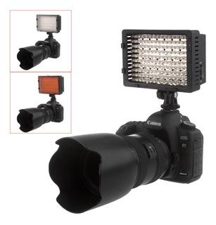 Reflector Luz Led Para Camaras Filmadoras160 Led Video