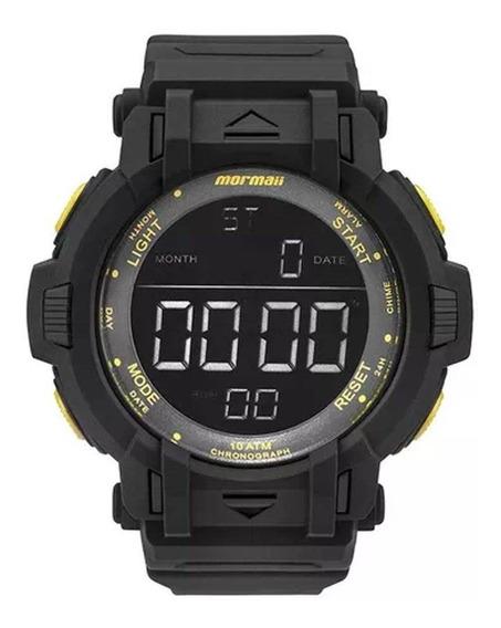 Relógio Masculino Mormaii Mom08111c/8y - Preto/amarelo