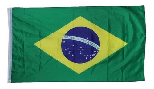 Bandeira Do Brasil Pronta Entrega 1,50 X 0,90m