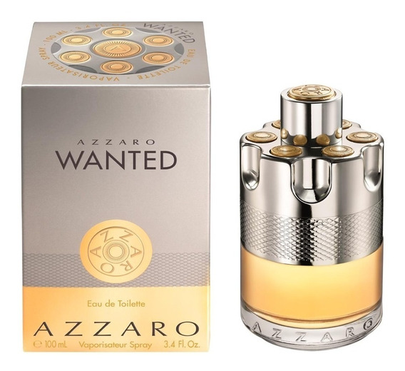 Perfume Azzaro Wanted 100ml Lacrado Original Eau De Toilette