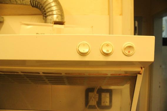 Purificador De Aire De Cocina Extractor Con Salida 50 Cm
