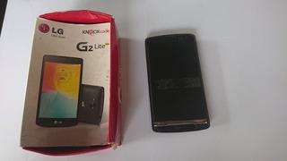 Celular Lg G2 Lite Quebrado Para Peças Preto