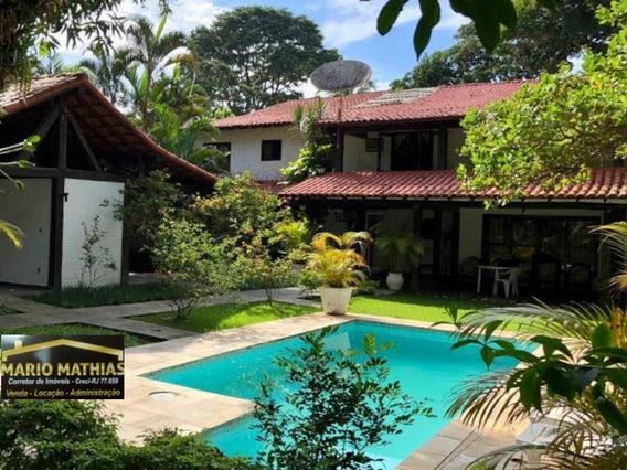 Casa Para Venda Em Rio Das Ostras, Bosque Da Praia, 8 Dormitórios, 4 Suítes, 6 Banheiros, 4 Vagas - _1-1508962