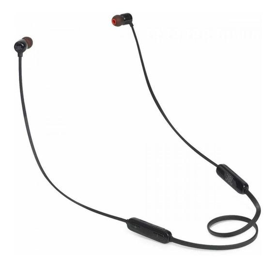 Fone de ouvido sem fio JBL T110BT black