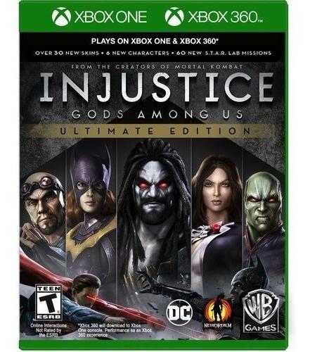 Injustice Gods Among Xbox One Mídia Física 100% Português