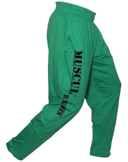 Babuchas Corte Americano Pantalon Deportivo Hombre Muscul