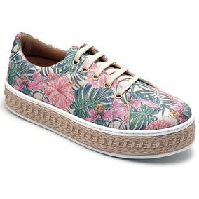 1fd5ed18ba8 Sapatilha De Cadarço Florida - Sapatos no Mercado Livre Brasil