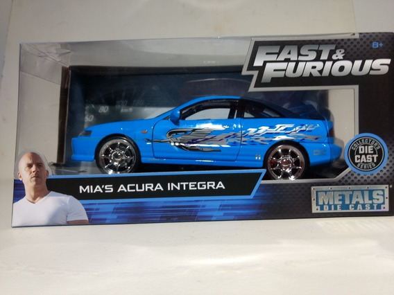 Miniatura Acura Integra 1:24 (velozes E Furiosos) Mia