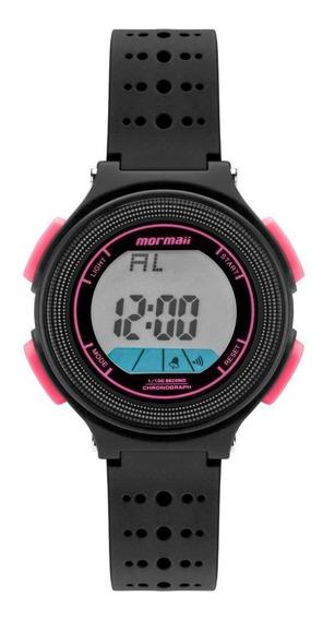 Relógio Infantil Unissex Mormaii Fun Mo0974b/8t 35mm Preta