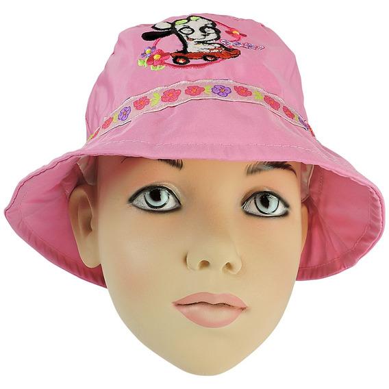 Chapéu Infantil Doki Discovery Kids Rosa Original Butterfly
