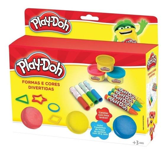 Play Doh Formas E Cores Divertidas Dtc