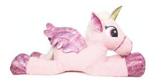 Unicornio Peluche 80 Cm Grande Suave Nena @ Mi Cielo Azul