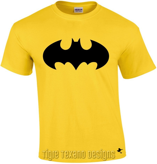 Playera Super Héroes Batman Y Robin M11 Tigre Texano Designs