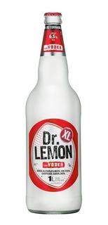 Dr Lemon Vodka Grande 1 Litro 1lt 01almacen