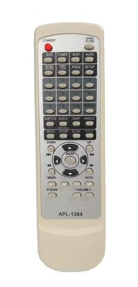 Cr-2182 Controle P/ Home Theater Gradiente Apl1384 Paralelo
