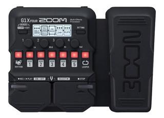 Zoom G1x Four Pedalera Multiefectos De Guitarra Electrica