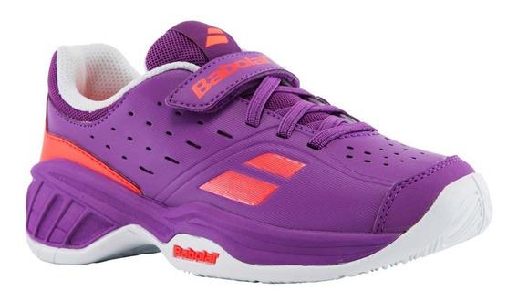 Zapatos Para Jugar Tenis Niña Babolat Pulsion All Court