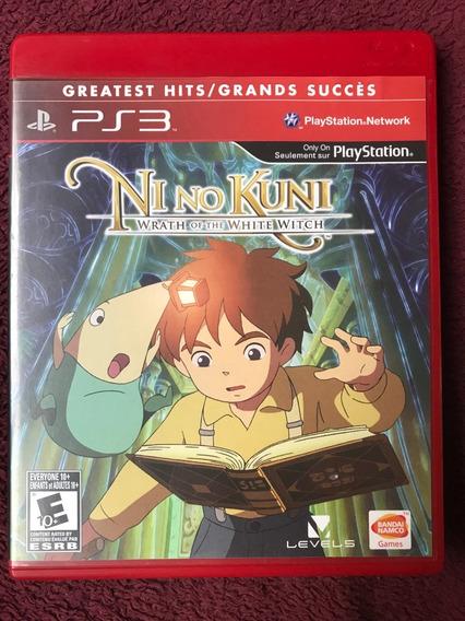 Ni No Kuni - Wrath Of The White Witch - Ps3 - Original