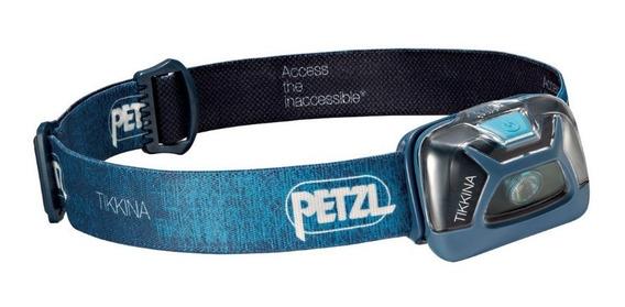 Linterna Frontal Petzl Tikkina 2017 Azul