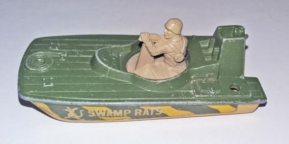 Lancha Matchbox Superfast Nº30 Swamp Rat 1976 Lesney Militar