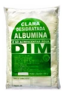 4 Albumina Dim - Proteína Do Ovo - 500g Cada