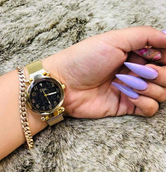Reloj Para Mujer Corte Diamante