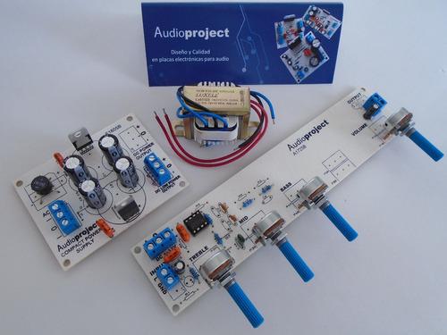 Imagen 1 de 6 de Preamplificador Mono Con Fuente - Audioproject