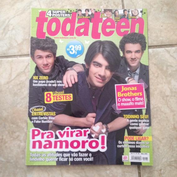Revista Toda Teen 162 05/2009 Jonas Brothers Nx Zero Pôster