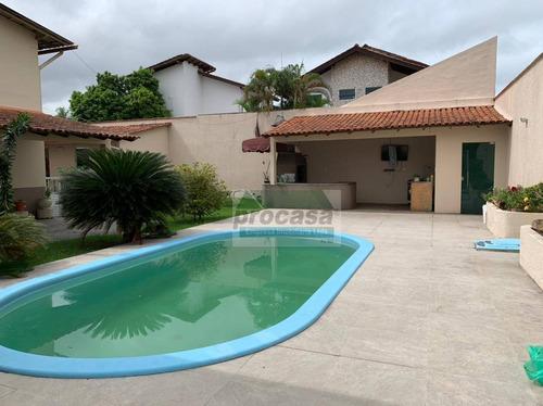 Imagem 1 de 28 de Belíssima Casa Com 4 Suítes À Venda, 680 M² Por R$ 2.500.000 - Dom Pedro - Manaus/am - Ca4105
