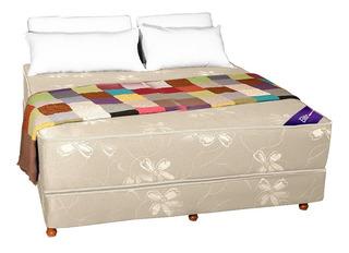 Sommier Colchon King Size Resortes 2x2 Somier Linea Premium