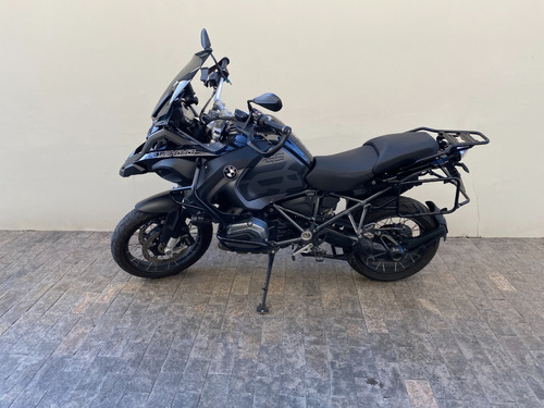Bmw R 1200 Gs Adventure Triple Black Preta