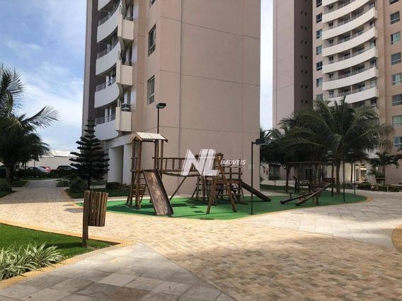 Apartamento Com 3 Dormitórios À Venda, 75 M² No Natture Condomínio Clube - Candelária - Natal/rn - Ap0537