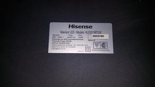 Placa Hisense Hle5015rtux 4k Ultra Hd Para Repuestos