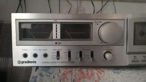 Tape Deck Gradiente Cd 5500