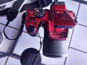 Câmera Semi-profissional Fujifilm Seminona Brinde 1 Tripé