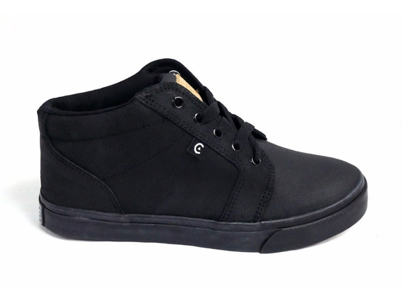 Tenis Core Footwear Smith High Black Black 175155
