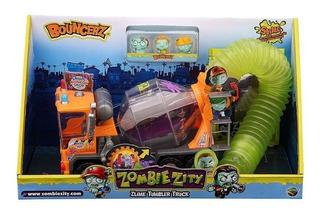 Camión Zombie Zity Con Figuras Y Slime Dracco M131005