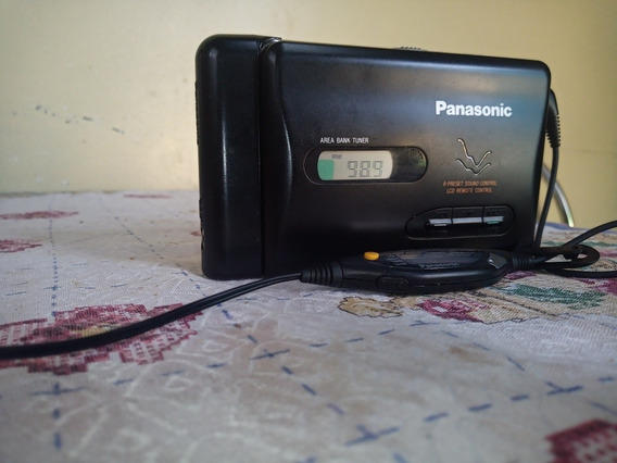 Walkman Panasonic Rqs60v Área Bank Tuner