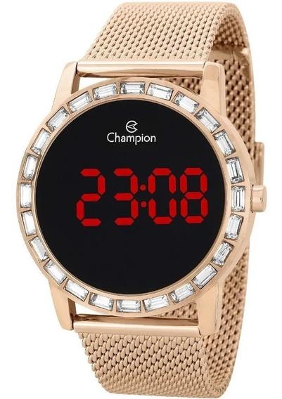 Relógio Champion Feminino Digital Led Ch40160z