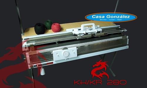 Imagen 1 de 7 de Máquina Con Suplemento Para Tejer Enigma Kh/kr-280
