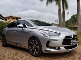 Citroën Ds5 Prata 2014 1.6 Turbo Thp