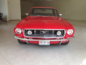 Mustang V8 Coupe 1968 Restaurado Impecable De Coleccion