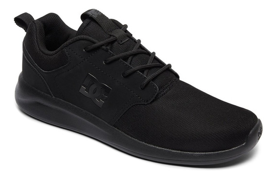 Zapatillas Dc Shoes Modelo Midway Negro Negro